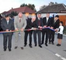 Inaugurarea drumului dintre Garbolc (Ungaria) şi Bercu