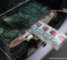 Peste 2.000 pachete de ţigări descoperite de polițiștii de frontieră