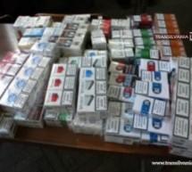 Bărbat prins cu 100 pachete țigări de contrabandă