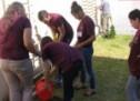 Organizația Caritas a organizat mai multe acțiuni de voluntariat