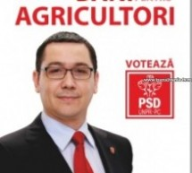 Guvernul Ponta aduce bani pentru agricultori