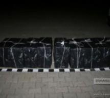 Peste 4.400 pachete de țigări au fost confiscate la Negrești-Oaș
