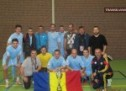 Politistii satmareni au jubilat la cupa Politiei la fotbal din Olanda