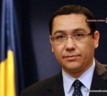 Victor Ponta susține dezvoltarea infrastructurii de transport