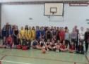 """Competiţie de streetball la Colegiul Naţional """"Ioan Slavici"""""""