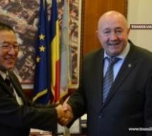Diplomat japonez în vizită la Sătmar