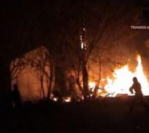 Incendiu cu șase morți la Satu Mare (Galerie FOTO)