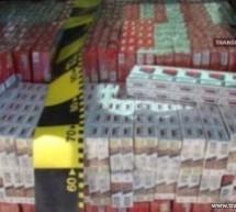 Peste 25.000 pachete de țigări au fost confiscate în luna aprilie