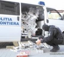 Peste 3.400 pachete de țigări au fost confiscate în luna iulie