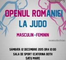"""Open-ul României la Judo, sâmbătă, în sala de sport """"Ecaterina Both"""""""