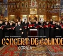 """Corala """"Arhanghelii"""" va susține un concert de colinde la Ardud"""