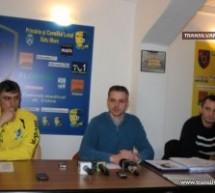 """Președintele Olimpiei, Dan Băbuț, dă replica suporterilor din """"Peluza Sud"""""""