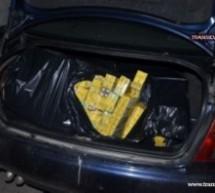 Ţigări de la duty-free şi Audi A4 confiscate de poliţiştii de frontieră