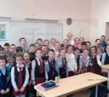 """Campania """"Vreau permis de biciclist!"""" a debutat la Şcoala Avram Iancu"""