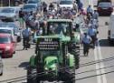 Fermierii din Satu Mare au protestat pentru a-și manifesta nemulțumirea cu privire la întârzierile înregistrate la plata subvențiilor