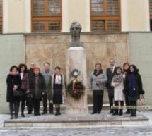 Mihai Eminescu a fost omagiat la liceul care îi poartă numele