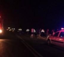Accident grav în Mujdeni, două persoane au rămas încarcerate