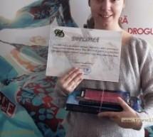 """Elevi sătmăreni premiați la concursul """"Mesajul meu antidrog"""""""