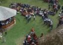 """Asociația """"Țara Oașului"""" a pregătit o nuntă tradițională pentru 800 de persoane."""