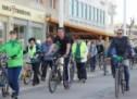 Peste o sută de bicicliști au participat la mini circuitul ciclistic