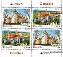 Castelul Karolyi din Carei, pe timbrele poștale