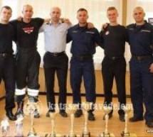 Pompierii sătmăreni, campioni la un concurs internațional din Ungaria