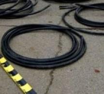 Au furat cablurile de comunicaţii ale CFR