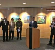Pictori sătmăreni și-au expus lucrările în Parlamentul European de la Bruxelles