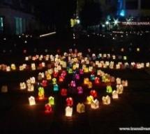 Festivalul luminii, sâmbătă, în Grădina Romei