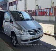 Mercedes Benz, căutat în Italia, descoperit la Petea
