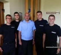 Patru elevi jandarmi fac practică la Jandarmeria Satu Mare