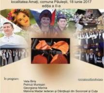 Veta Biriș cântă la Festivalul Tradițiilor și Meșteșugurilor din Amați