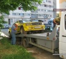 Primăria ridică mașinile abandonate în Satu Mare