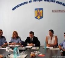 """Polițiștii sătmăreni au lansat Campania """"Zero la mie"""""""