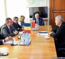 Ambasadorul Republicii Belarus, în vizită la Satu Mare