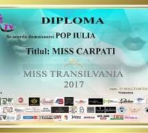 Miss Carpați, Iulia Pop din Baia Mare