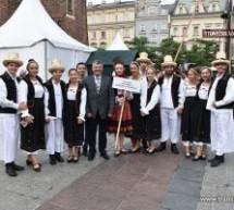 Ansamblul Folcloric al Județului, la Festivalul Internațional de Cultură și Artă de la Cracovia