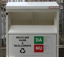 Au reapărut containerele de colectare textile la Satu Mare