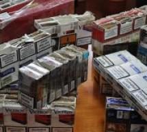 Tânăr prins cu țigări de contrabadă pe strada Mihai Eminescu