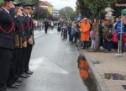Paradă impresionantă și exerciții demonstrative de Ziua Pompierilor, la Negrești-Oaș