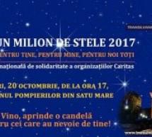 """Se aprind din nou """"Un Milion de Stele"""" la Satu Mare"""