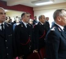 Pompierii au fost avansați în grad cu ocazia Zilei Naționale