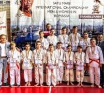 """Judoka sătmăreni pe podium la turneul """"Cupa Satu Mare"""""""