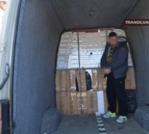Țigări confiscate înainte să ajungă pe piața neagră