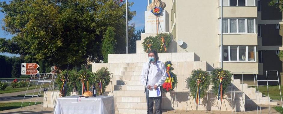 Avram Iancu, comemorat la Carei