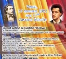 Spectacol la Carei, dedicat Zilei Culturii Naționale