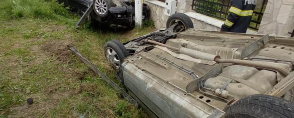 Accident grav produs în Borlești