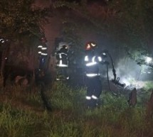 Incendiu la o casă de locuit din Domănești