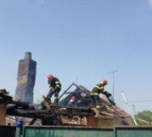 Incendiu produs în Oar