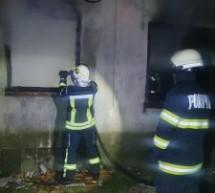 Incendiu la un apartament în Satu Mare
